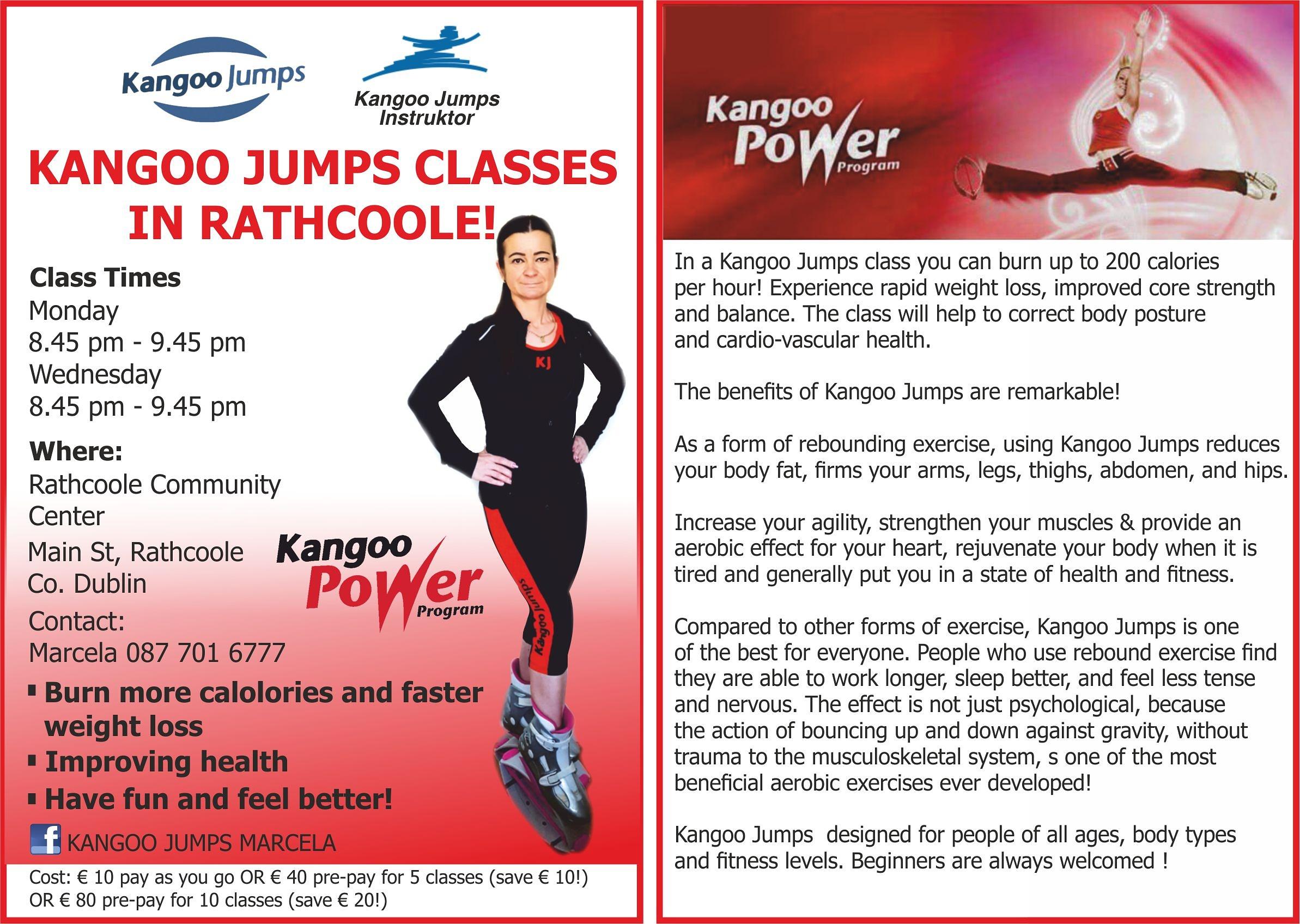 Kangoo Jumps Classes Rathcoole