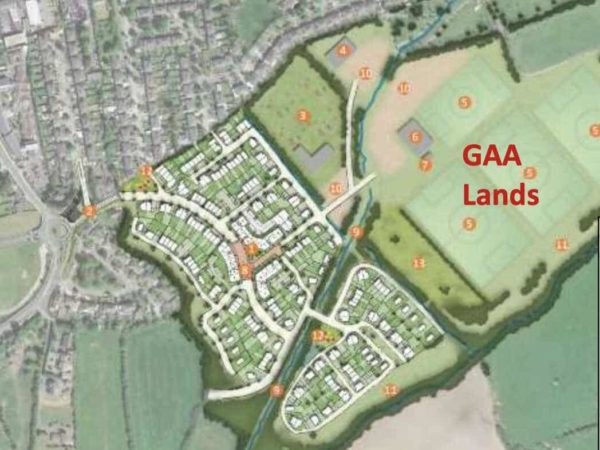Rathcoole Draft Master Plan Series – The GAA Lands and the SDCC Sports Pitch Strategy – April 2020