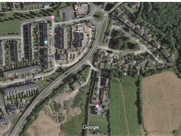 Strategic Housing Development for Rathcoole Opposite Peyton Estate