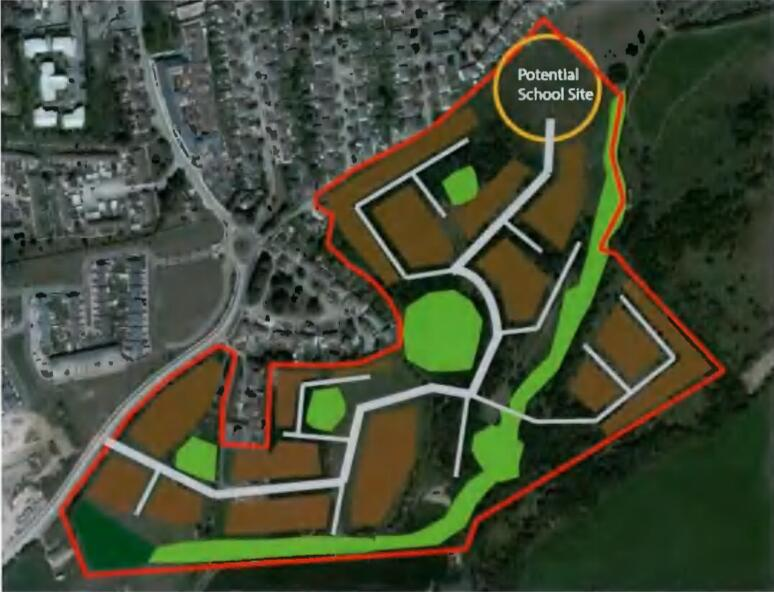 Area Plan for land at Stoney Hill Road and Rathcoole Park