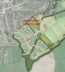 Rathcoole Draft Master Plan Series – Department of Education Land – April 2020