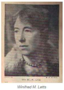 Winifred Mabel Letts (1882- 1972)